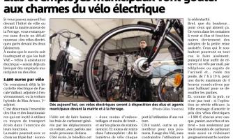 Déplacement en vélo électrique pour les élus et fonctionnaires cannois