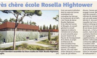 Très chère école Rosella Hightower