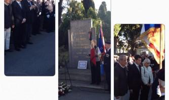 Hommage aux victimes de la rue d'Isly