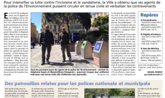 Environnement : gare à la police en civil