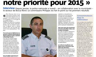 """""""Le secteur de Ranguin est notre priorité pour 2015"""""""