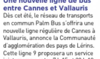 Transports : une nouvelle ligne de bus