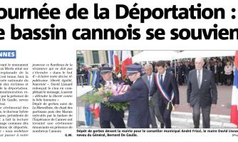 Journée de la Déportation : Cannes se souvient