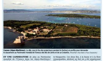 La baie de Cannes candidate à l'Unesco