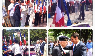 Anciens d'Indochine : l'hommage cannois