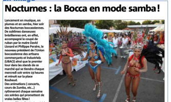Nocturnes : La Bocca en mode samba !