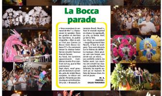 La Bocca parade à l'heure brésilienne