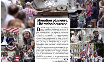 Libération pluvieuse, Libération heureuse