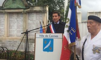 Libération de Cannes : David Lisnard rend hommage aux résistants boccassiens