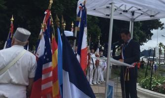 Légion d'honneur et souvenir marquent l'anniversaire de la Libération de Cannes