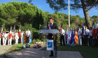 David Lisnard rend hommage aux Harkis morts pour la France