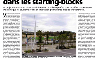 Bastide Rouge : l'université dans les starting-blocks