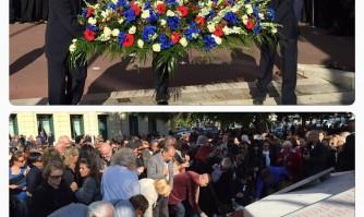 Les Cannois solidaires des victimes, de leurs familles et de Paris