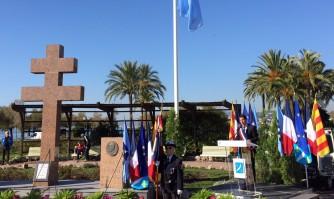 David Lisnard rend hommage au Général de Gaulle