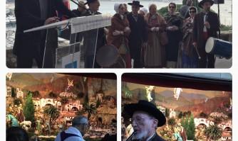 David Lisnard inaugure la crèche du Suquet