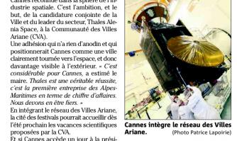 La Ville et Thalès, unies pour Ariane
