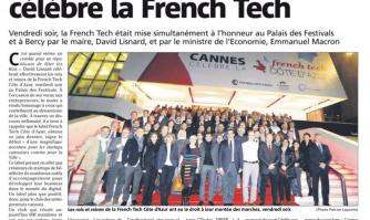 Cannes, comme Bercy, célèbre la French Tech