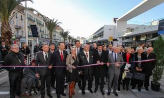Inauguration du nouveau parvis multimodal de la gare