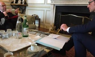 David Lisnard défend les enjeux de sécurité à Cannes devant Bernard Cazeneuve