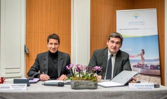 Le CRT et les Aéroports de la Côte d'Azur unis dans la promotion de la destination azuréenne