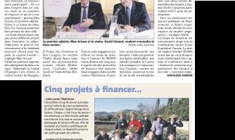 La mairie se lance dans le mécénat et le crowdfunding