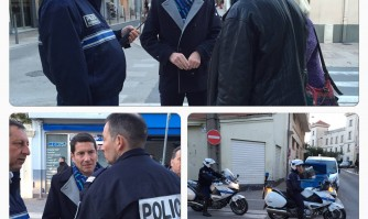 Opération de Police dans le quartier République