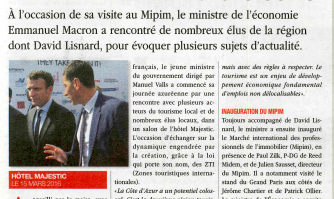 Un ministre sur la Croisette