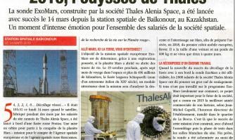 2016, l'odyssée de Thalès