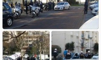 Opération Police à La Frayère