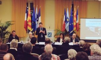 La commission extra-municipale de la mer en séance plénière
