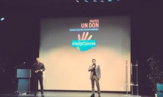 David Lisnard a donné le coup d'envoi des enchères Help Cannes