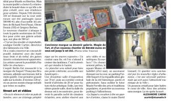 Suquet : résidence des artistes, phase deux !