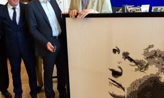 David Lisnard rend hommage à Gilles Jacob
