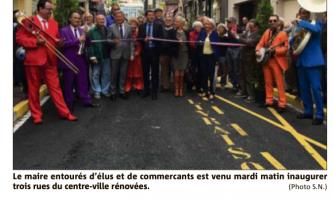 Les rues Lecerf, Mimosas et Daumas inaugurées
