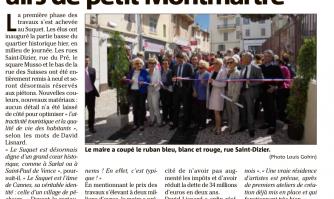 Le bas Suquet affiche ses airs de petit Montmartre
