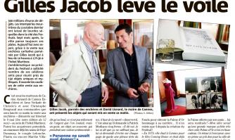 Enchères Help Cannes : Gilles Jacob lève le voile
