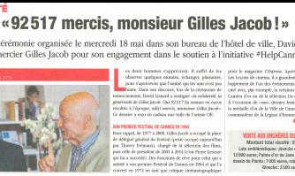 """92 517 mercis, monsieur Gilles Jacob !"""