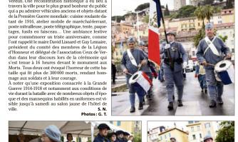 Une reconstitution pour le centenaire de Verdun