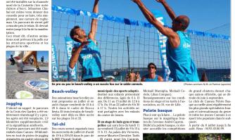 Jogging, foot, piscine... pas de doute, l'été sera sport