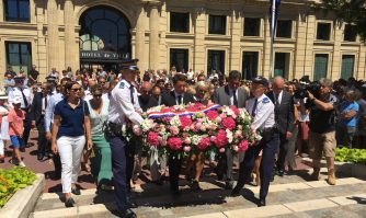 Rassemblement à la mémoire des victimes de l'attaque de Nice