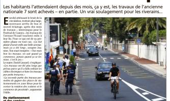 Chantier avenue Picaud : on siffle la mi-temps