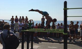 Le Boulevard du Midi aux piétons : Cannes plus sportive que jamais