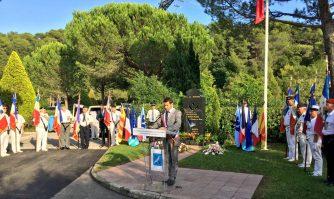 David Lisnard rend hommage aux musulmans, harkis et pieds-noirs morts pour la France