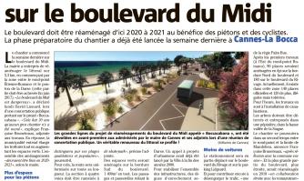 Les travaux ont commencé sur le boulevard du Midi