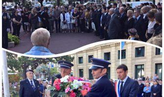 L'hommage des Cannois aux victimes du 3 octobre 2015