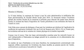 « Le gouvernement fait des cadeaux préélectoraux… et les fait payer pour 1,4 million d'euros à la commune de Cannes ! » dénonce David Lisnard