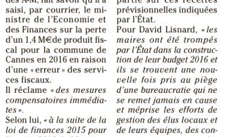 Impôts : le coup de gueule de David Lisnard