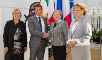 Rencontre bilatérale entre Cannes et l'Irlande