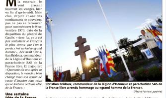 """""""46 ans après sa mort, le général de Gaulle ne cesse d'inspirer"""""""