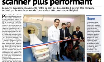 L'hôpital se dote d'un scanner plus performant